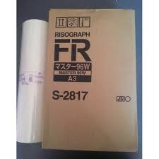 RISO - Riso S-2817 96W A3 FR MASTER FR-3910, FR-3950