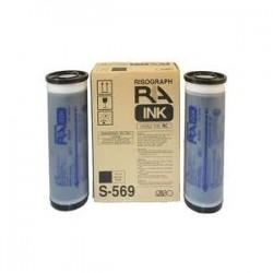 RISO - Risograph S-569E Siyah Mürekkep - RC 4500/RC 5600/RC 6300/RA 4050/RA 4200/RA 4900