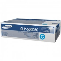 SAMSUNG - SAMSUNG CLP-500D5C/SEE MAVİ ORJİNAL TONER- CLP500 / CLP550
