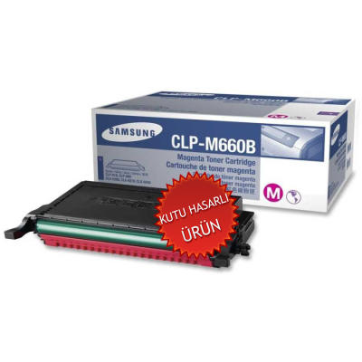 SAMSUNG - SAMSUNG CLP-M660B KIRMIZI ORJİNAL TONER CLP-610/CLP-660 (C)