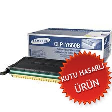 SAMSUNG - SAMSUNG CLP-Y660B SARI ORJİNAL TONER CLP-610/CLP-660 (C)