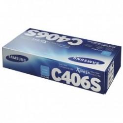 SAMSUNG - SAMSUNG CLT-C406S CLP-365 / CLX-3305 MAVİ ORJİNAL TONER