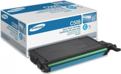 SAMSUNG - SAMSUNG CLT-C508S MAVİ ORJİNAL TONER CLP-620 / CLP-670 / CLX-6250