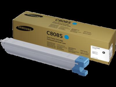 SAMSUNG - Samsung CLT-C808S (SS560A) Mavi Orjinal Toner SL-X4220, SLX-4250, SLX-4300