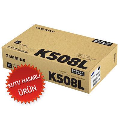 SAMSUNG - Samsung CLT-K508L/SEE Siyah Orjinal Toner - CLP-620 (C)