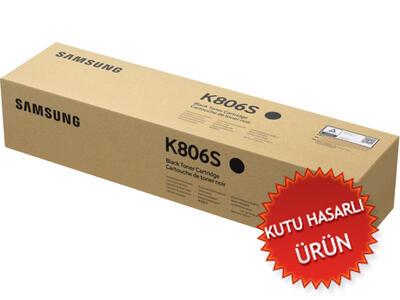 SAMSUNG - Samsung CLT-K806S/SEE Siyah Orjinal Toner (C)