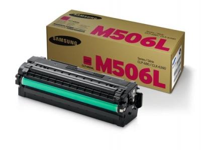 SAMSUNG - SAMSUNG CLT-M506L KIRMIZI ORJİNAL TONER CLX-6260 / CLP-680