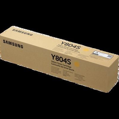 SAMSUNG - Samsung CLT-Y804S/SEE Sarı Orjinal Toner - X3220NR / X3280NR