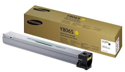 SAMSUNG - Samsung CLT-Y806S/SEE Sarı Orjinal Toner - X7400 / X7500
