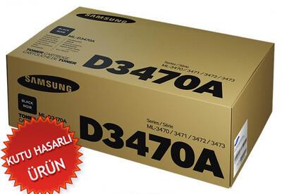 SAMSUNG - Samsung ML-D3470A/EUR Siyah Orjinal Toner - ML-3471 (C)
