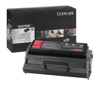 LEXMARK - Lexmark 12A7305 Siyah Orjinal Toner - E321 / E323