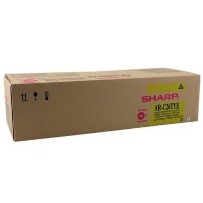 SHARP - Sharp AR-C26TYE Sarı Orjinal Toner AR-C170M, AR-C172M, AR-C262M