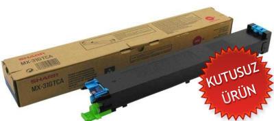 SHARP - Sharp MX-31GTCA Mavi Orjinal Toner (U)