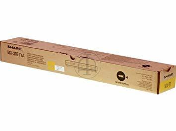 SHARP - Sharp MX-31GTYA Sarı Orjinal Toner MX-2600N / MX-2301 / MX-3100 / MX-4100