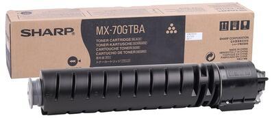 SHARP - Sharp MX-70GTBA Siyah Orjinal Toner MX-5500, MX-6200, MX-6201, MX-7000