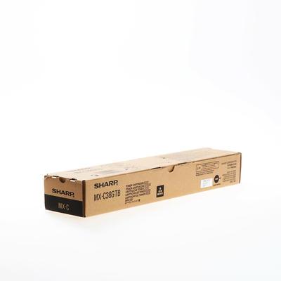 SHARP - Sharp MX-C38GTB Siyah Orjinal Toner MX-C310/C380/C311/C381