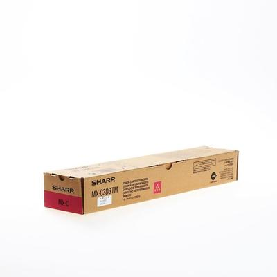 SHARP - Sharp MX-C38GTM Kırmızı Orjinal Toner MX-C310/C380/C311/C381