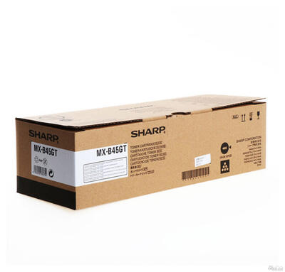 SHARP - Sharp MXB45GT Siyah Orjinal Toner - MX-B350P / MX-B355W / MX-B355WP / MX-B450