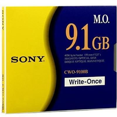 SONY - Sony CWO-9100B 4096 B/S Worm Manyetik Optik Disk 9.1 GB