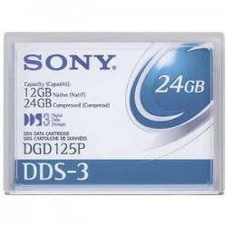 SONY - SONY DGD125P DDS3 DATA KARTUŞ 12 GB / 24 GB , 125m, 4 mm (VERİ YEDEKLEME KASETİ)