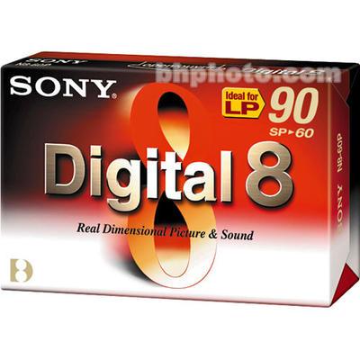SONY - Sony Digital 8 SP-90 N8-60P2 Video Kamera Kaseti