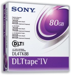 SONY - SONY DLT-IV (DLT-4) DATA KARTUŞ 40GB / 80GB 12,65 mm