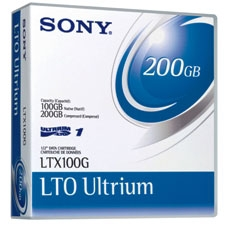 SONY - SONY LTO-1 Ultrium DATA KARTUŞ 100 GB / 200 GB 609m, 12,65mm