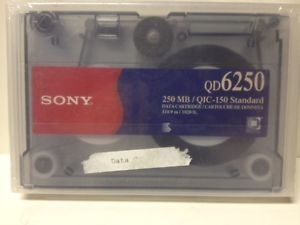 SONY QD-6250 250Mb/500Mb 311m 5,25 DATA KARTUŞU