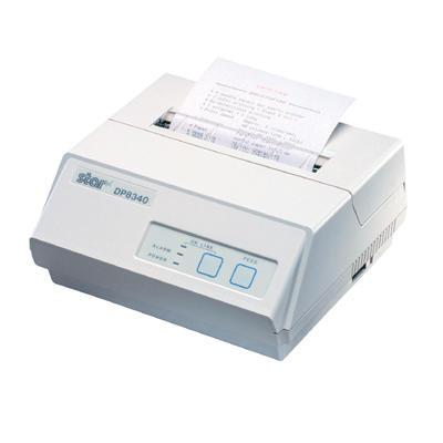 TALLY - Star DP8340FC 2 Sat/Sn Paralel Manuel Kesici Beyaz Slip Dot Matrix Pos Yazıcısı