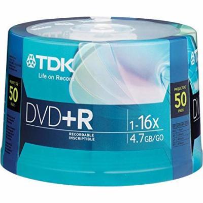 - TDK DVD-R 4.7GB 16X 50'li Paket Cakebox