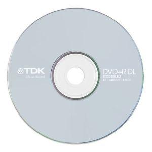 - TDK DVD-R 4.7GB 16X Tekli Paket Cakebox