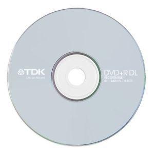 - TDK DVD-R 4.7GB 16X Tekli Paket Cakebox