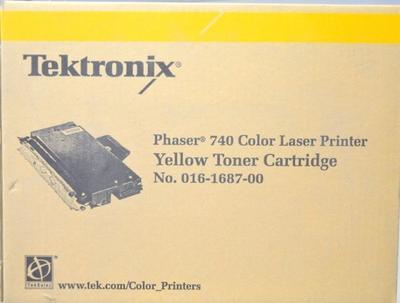 XEROX - Tektronik Phaser 740 Sarı Orjinal Toner 016-1687-00