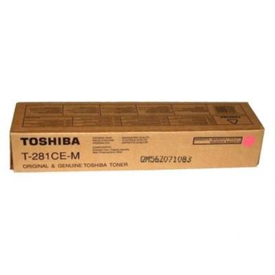 TOSHIBA - Toshiba T-281CE-M Kırmızı Orjinal Toner E-Studio 281c, 351c, 451c