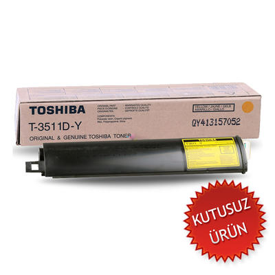 TOSHIBA - Toshiba T-3511D-Y Sarı Orjinal Toner (U)