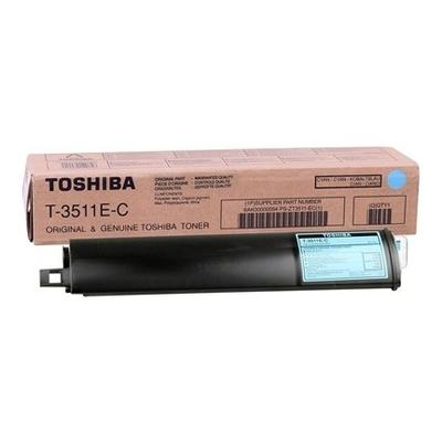 TOSHIBA - Toshiba T-3511E-C Mavi Orjinal Toner E-Studio 281C, 351C, 451C, T4511