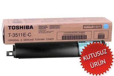 TOSHIBA - Toshiba T-3511E-C Mavi Orjinal Toner (U)