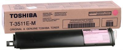 TOSHIBA - Toshiba T-3511E-M Kırmızı Orjinal Toner E-Studio 281C, 351C, 451C, T4511