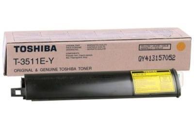 TOSHIBA - Toshiba T-3511E-Y Sarı Orjinal Toner E-Studio 281C, 351C, 451C, T4511