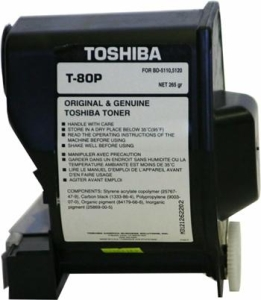 TOSHIBA - TOSHIBA T-80P ORJİNAL TONER BD-5100 / BD-5110 / BD-5120 / BD-7610 / BD-7720