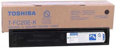 TOSHIBA - Toshiba T-FC20E-K Siyah Orjinal Toner e-Studio 2020C 20,300 Sayfa