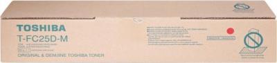 TOSHIBA - TOSHIBA T-FC25D-M ORJİNAL KIRMIZI TONER E-Studio 2040C-2540C-3040C-3540C-4540C