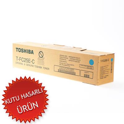 TOSHIBA - Toshiba T-FC25E-C Mavi Orjinal Toner (C)