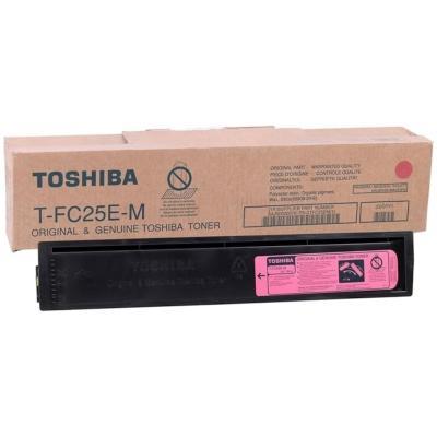 TOSHIBA - Toshiba T-FC25E-M Kırmızı Orjinal Fotokopi Toneri E-Studio 2040c, 2540c, 3040c, 3540c, 4540c