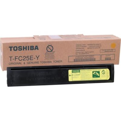 TOSHIBA - Toshiba T-FC25E-Y Sarı Orjinal Fotokopi Toneri E-Studio 2040c, 2540c, 3040c, 3540c, 4540c