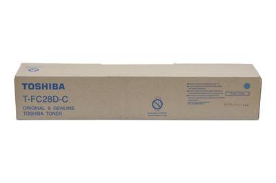 TOSHIBA - Toshiba T-FC28D-C Mavi Orjinal Toner E-Studio 2330C, 2820C, 2830C, 3520C, 3530C