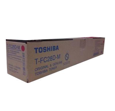 TOSHIBA - Toshiba T-FC28D-M Kırmızı Orjinal Toner E-Studio 2330C, 2820C, 2830C, 3520C, 3530C