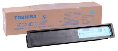 TOSHIBA - Toshiba T-FC28E-C Mavi Orjinal Toner E-Studio 2330C, 2820C, 2830C, 3520C, 3530C