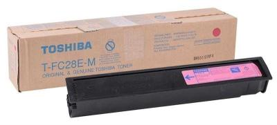 TOSHIBA - Toshiba T-FC28E-M Kırmızı Orjinal Toner E-Studio 2330C, 2820C, 2830C, 3520C, 3530C