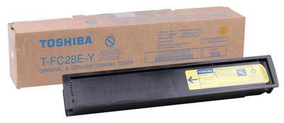 TOSHIBA - Toshiba T-FC28E-Y Sarı Orjinal Toner E-Studio 2330C, 2820C, 2830C, 3520C, 3530C